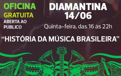 Diamantina também receberá oficina do Prêmio em 14/06