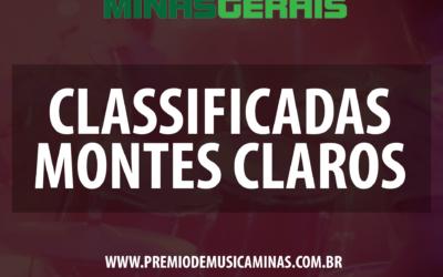CLASSIFICADAS EM MONTES CLAROS