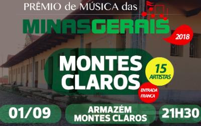 Aê, aê Montes Claros, está chegando a etapa classificatória do Prêmio de Música!