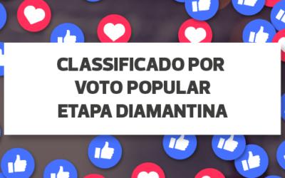 RESULTADO VOTAÇÃO POPULAR ETAPA DIAMANTINA