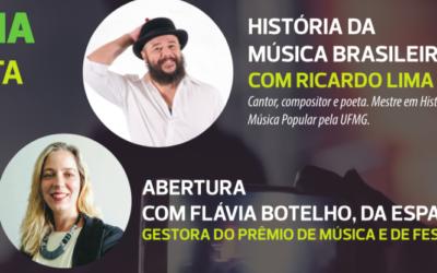 """Novidade 2018: Oficina """"História da Música Brasileira"""" aberta ao público"""