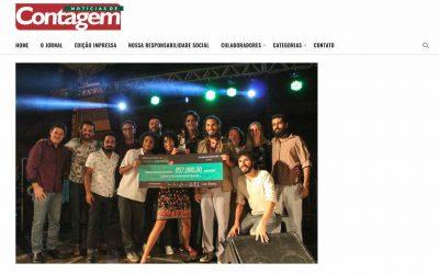Notícias de Contagem, Portal de Poços e Diário Popular destacam o Prêmio no dia 09 de março