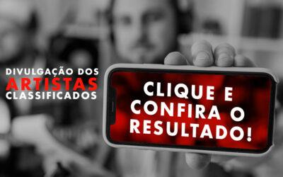 Classificados Prêmio de Música das Minas Gerais 2021